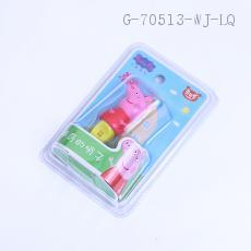 99321  Pig Peggy Whistle Toy