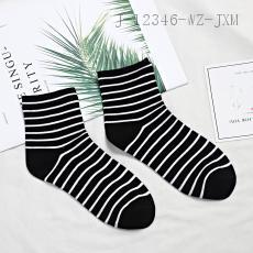6340  Striped Ladies' Socks  Two Pairs