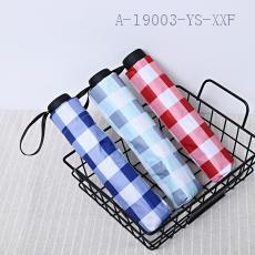 A213  Japanese Plaid Umbrella  55cm  8K