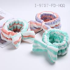 Flannel Butterfly End Hair Band  60g  8*19cm