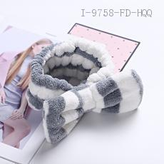 Cationic Thick Stripe Hair Band  37g  8*16cm