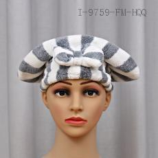 Cationic Thick Striped Princess Hat  55g  24*30cm