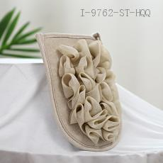 Encrypted Bath Flower Flat Gloves  35g  15*20cm