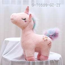 Rainbow Unicorn Doll  40cm