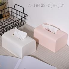 Small Desktop Tissue Box  OPP Bag  18.5*11.7*9.5cm