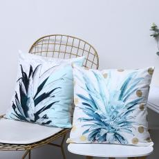 Sketch Pineapple Series Pillow  350g  43*43cm