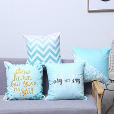 Refreshing Blue Series Pillow  50g  43*43cm