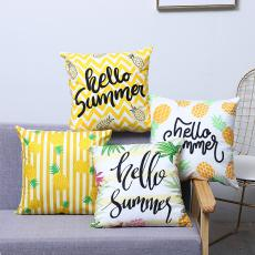 Colorful Pineapple Series Pillow  43*43cm  50g