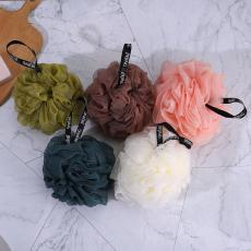 Solid Color Bath Ball  12*12cm  50g