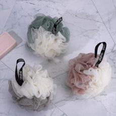 Cute Two-Color Bath Ball  12*12cm  50g