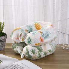 Pineapple Printed U-Shaped Pillow