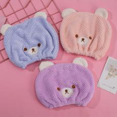 Cute Bear Dry Hair Cap  28*22cm